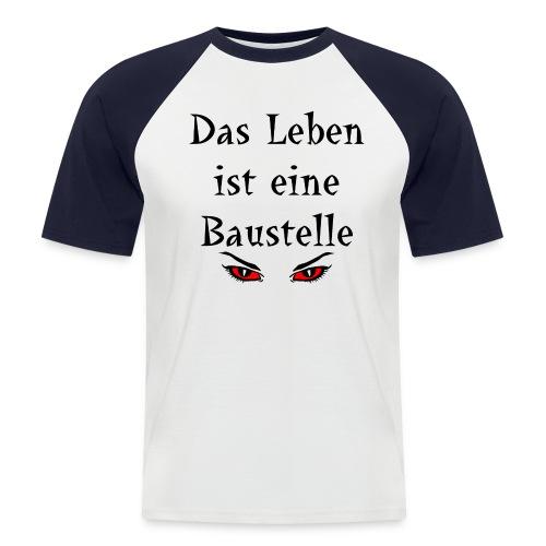 ba - Männer Baseball-T-Shirt