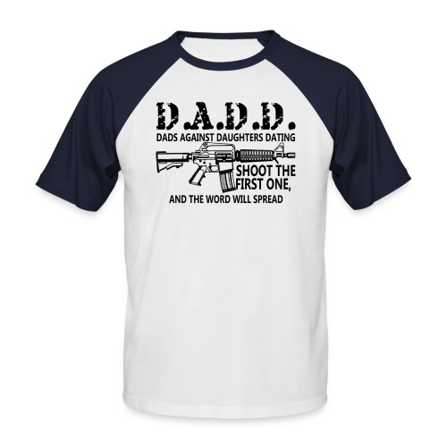 dadd 2012 - Men's Baseball T-Shirt