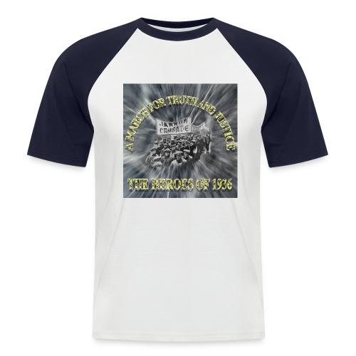 Jarrow Marchers - Men's Baseball T-Shirt