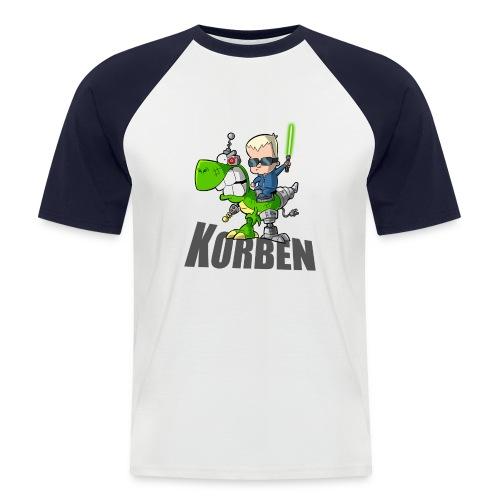korben 1 DD - T-shirt baseball manches courtes Homme