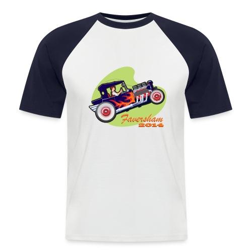 Faversham Hot Rod - Men's Baseball T-Shirt