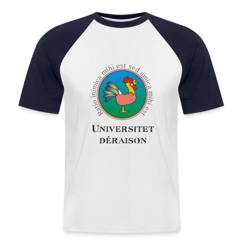 universitetet - Kortærmet herre-baseballshirt