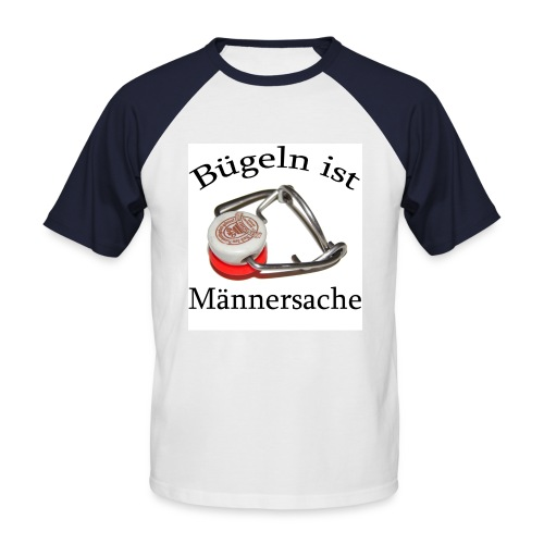 buegeln3 - Männer Baseball-T-Shirt