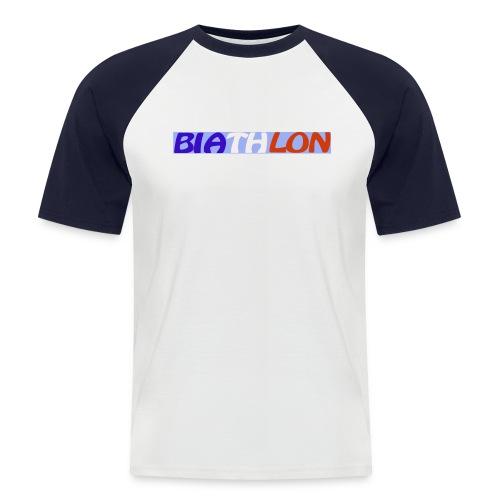 sans titre 3 - T-shirt baseball manches courtes Homme