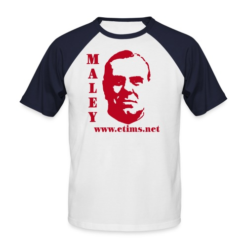 spreadshirt maley 1 - Men's Baseball T-Shirt