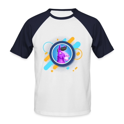 Suntted Logo Effect - T-shirt baseball manches courtes Homme