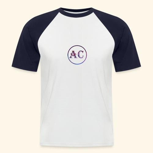 Nombre AC - Camiseta béisbol manga corta hombre