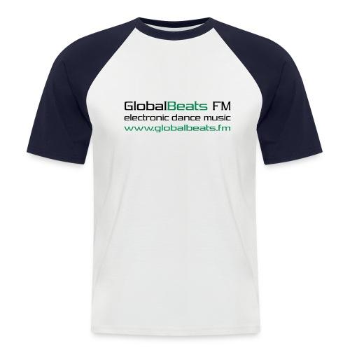 frontprint 3 - Männer Baseball-T-Shirt