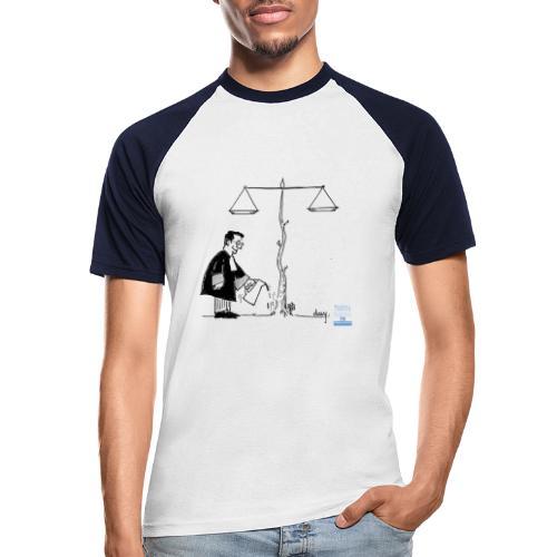 avocat jardinier - T-shirt baseball manches courtes Homme