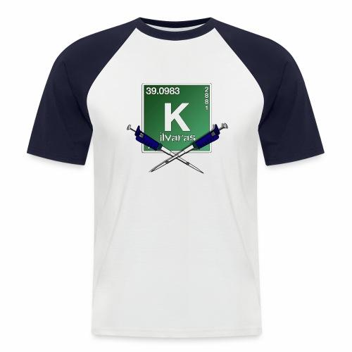 Kilva Logo - Maglia da baseball a manica corta da uomo