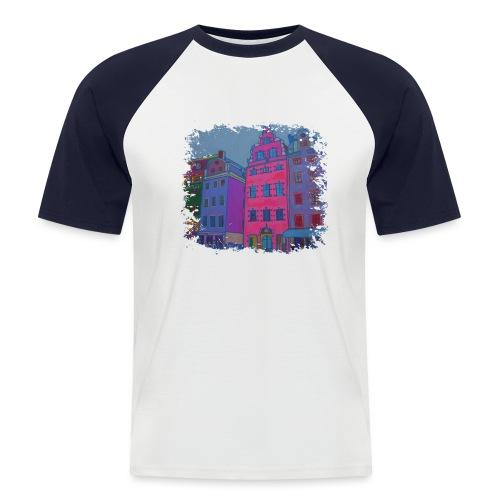 Stockholm - Männer Baseball-T-Shirt