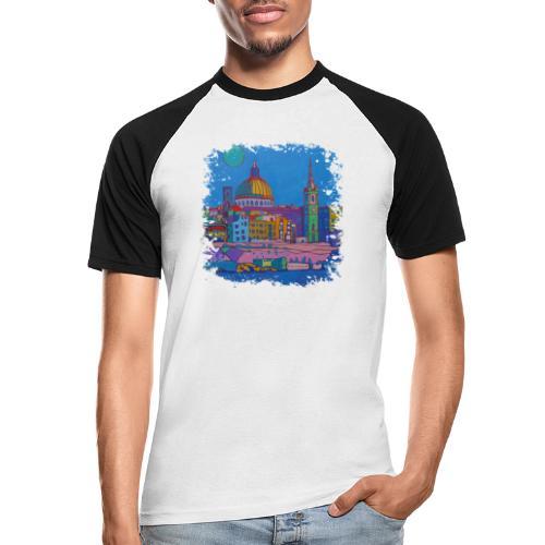 Malta - Männer Baseball-T-Shirt