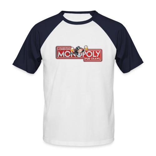 monopoly 2 - Men's Baseball T-Shirt