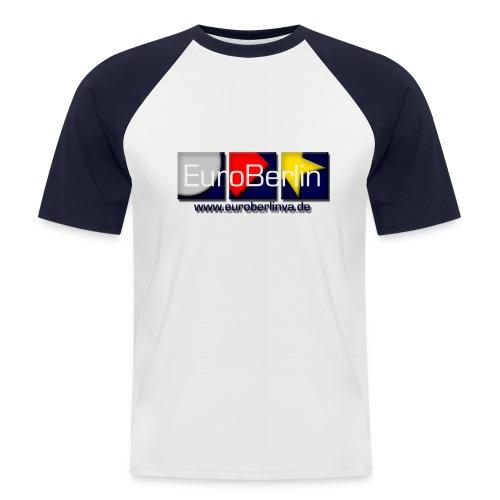 eba logo 1500x650 - Männer Baseball-T-Shirt