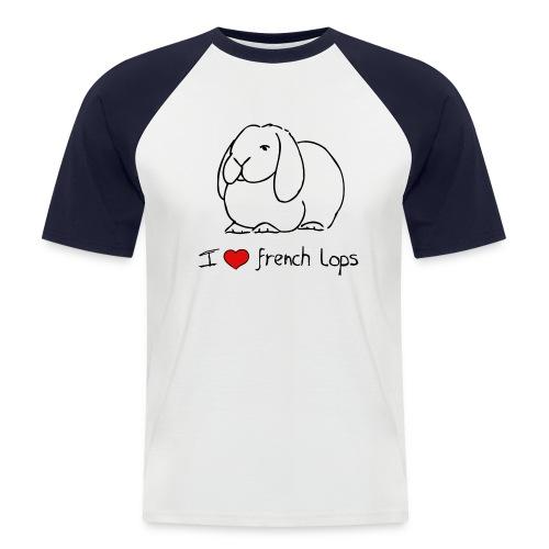 French Lop - Men's Baseball T-Shirt