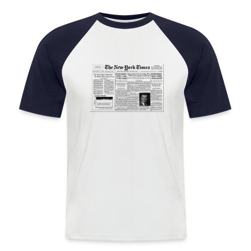 York design - T-shirt baseball manches courtes Homme