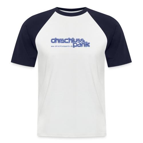 ohrschlusspanik sch www pos - Männer Baseball-T-Shirt