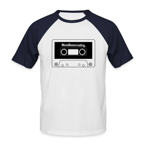 tape - T-shirt baseball manches courtes Homme