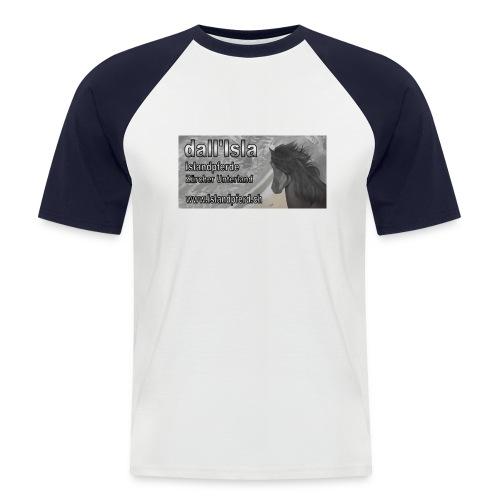p kleider logo - Männer Baseball-T-Shirt