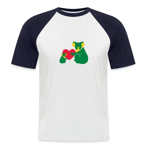 Koala Heart Baby - Men's Baseball T-Shirt
