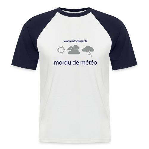 tshirt mordumeteo v1 - T-shirt baseball manches courtes Homme