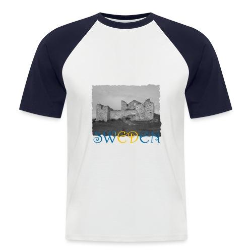 SWEDEN #1 - Männer Baseball-T-Shirt