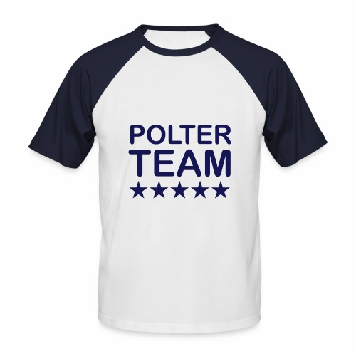 Poltercrew - Männer Baseball-T-Shirt