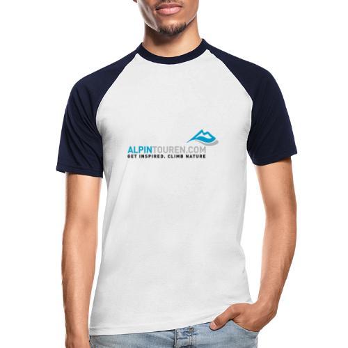 Alpintouren Logo - Männer Baseball-T-Shirt