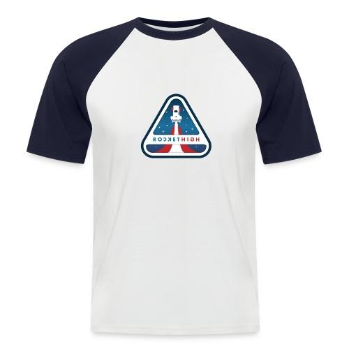 ROCKETHIGH - T-shirt baseball manches courtes Homme