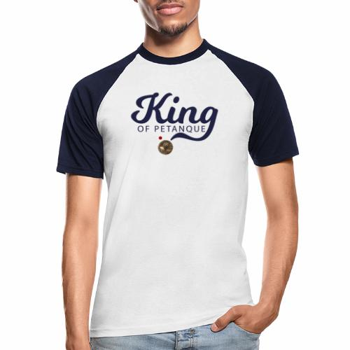 KING OF PETANQUE - T-shirt baseball manches courtes Homme
