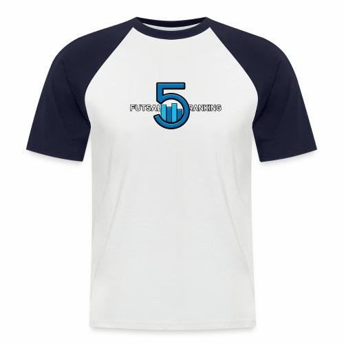 Futsal Ranking logo 2 - Kortærmet herre-baseballshirt