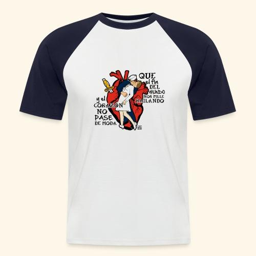 FAMOUS KISS - Camiseta béisbol manga corta hombre