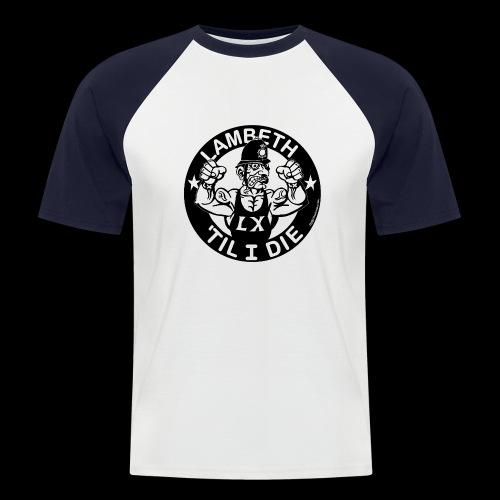 LAMBETH - BLACK - Men's Baseball T-Shirt