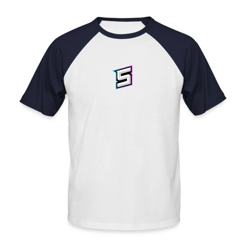 shine goed - Mannen baseballshirt korte mouw