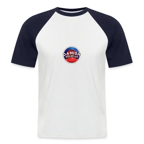 DanishRP New Logo - Kortærmet herre-baseballshirt