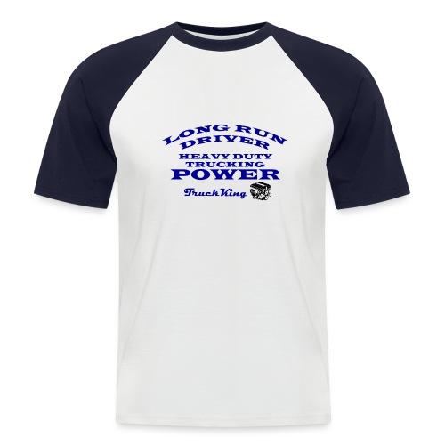 POWER - Camiseta béisbol manga corta hombre