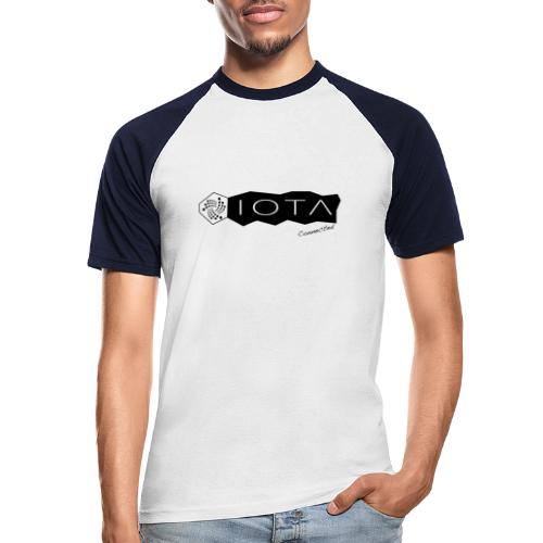Iota connected black - T-shirt baseball manches courtes Homme