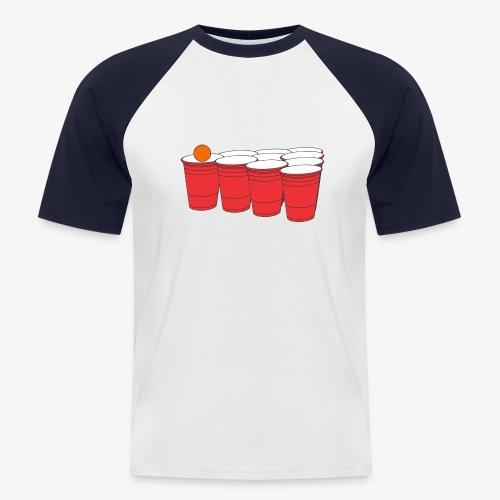 Beerpong Party Motiv T-Shirt - Männer Baseball-T-Shirt