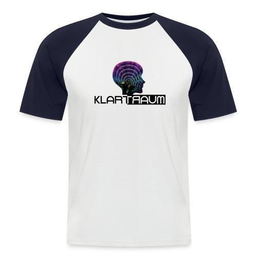 Klartraum Logo Transparent - Men's Baseball T-Shirt