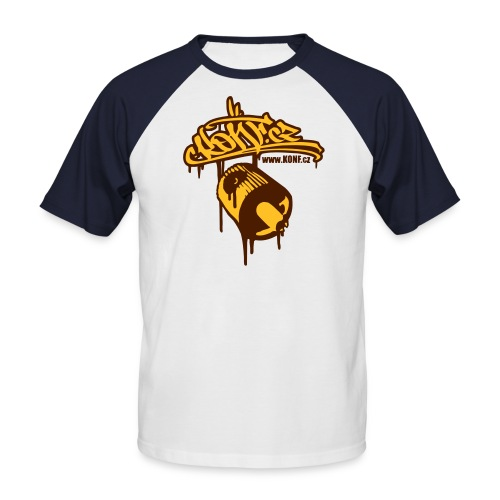 BROWN HOODED SWEET - Men's Baseball T-Shirt