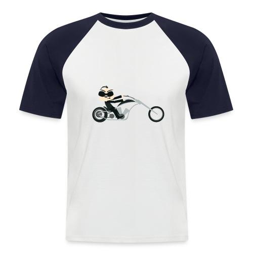 motor - Mannen baseballshirt korte mouw