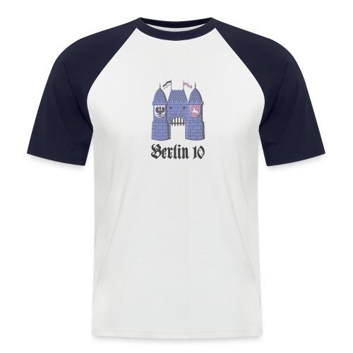 berlin10_wappen_dunkel - Männer Baseball-T-Shirt