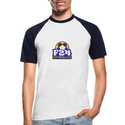 Fotboll24 - Kortärmad basebolltröja herr