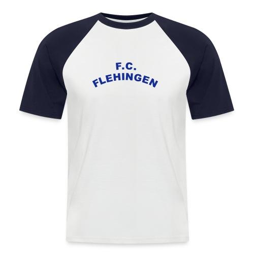 FC Flehingen gebogen - Männer Baseball-T-Shirt