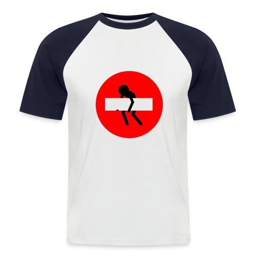 prohibido - Camiseta béisbol manga corta hombre