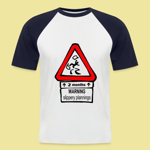 planningwarningen - T-shirt baseball manches courtes Homme