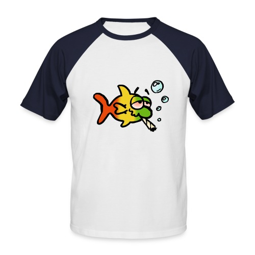 kifferfisch1 - Männer Baseball-T-Shirt