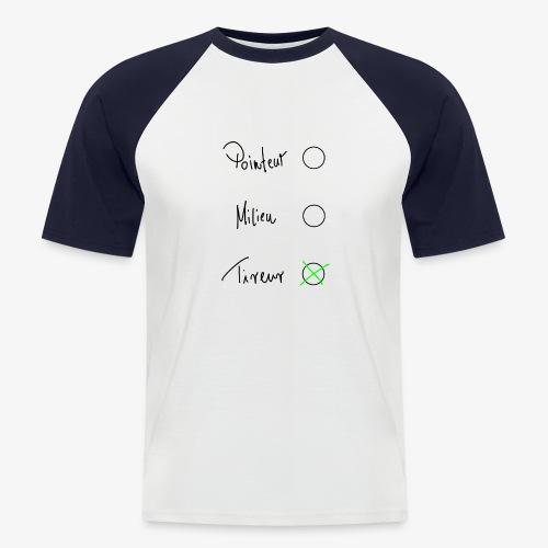 Tireur - Männer Baseball-T-Shirt