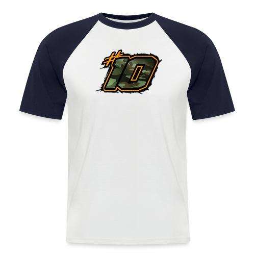 10-CAMOUFLAGE - Männer Baseball-T-Shirt
