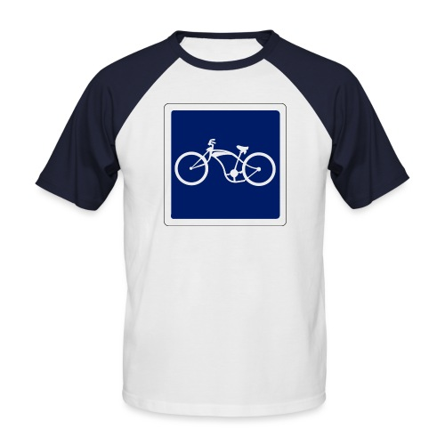 panneau - T-shirt baseball manches courtes Homme